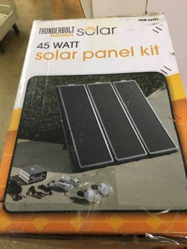 thunderbolt magnum solar panel kit 45 wats solar panel kit for sale classifieds