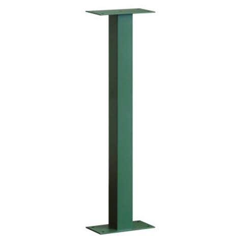 Pedestal Mailbox Home Depot salsbury industries standard bolt mounted pedestal for
