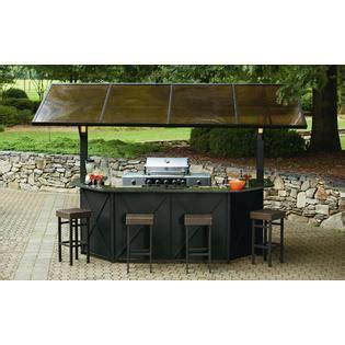 ty pennington style sunset hardtop grill gazebo bar