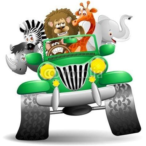 cartoon safari jeep 93 best images about zoo animals on pinterest jungle