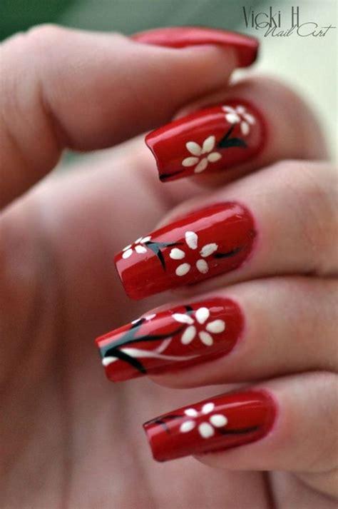 imagenes uñas decoradas rojas 45 u 241 as rojas que no puedes dejar de probar