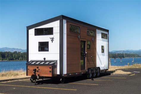 tiny house innovations catalina tiny house on wheels boasts interior of full size