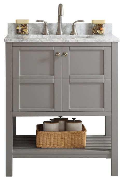 Vanities Without Sinks by Florence Single Vanity Gray Without Mirror