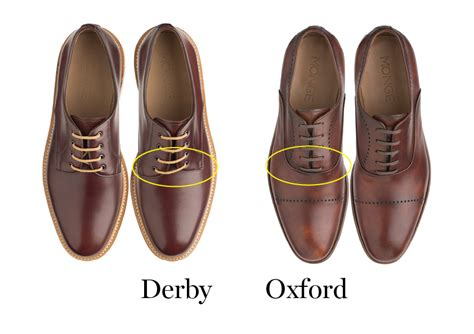 Shoes Handmade - the difference between oxford and derby shoes monge