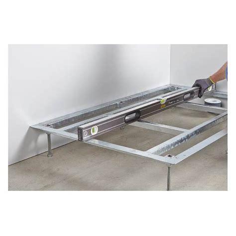 receveur de plat 140x90 support receveur 140x90 boutique pro carea sanitaire
