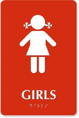girl and boy bathroom signs girls bathroom signs kids bathroom signs