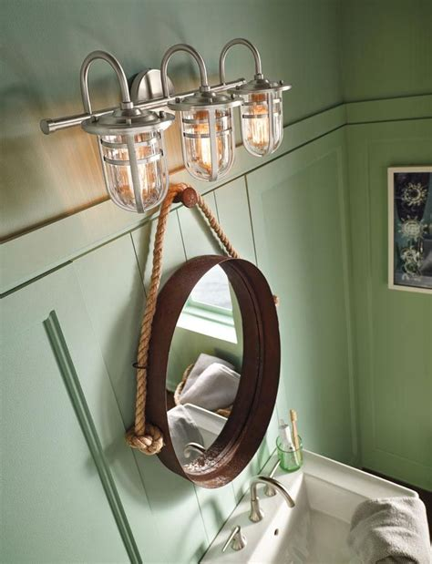 nautical bathroom light fixtures best 25 nautical bathrooms ideas only on