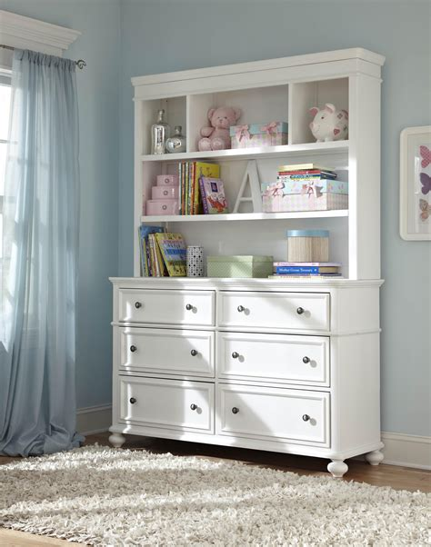 small bookcase for nursery madison classic dresser with 6 drawers and bookcase hutch