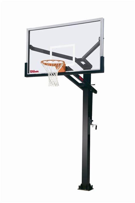 basketball hoop backyard wilson 72 quot stadium glass basketball hoop