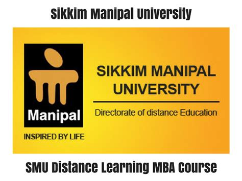Distance Learning Stanford Mba by Smu Distance Learning Mba Course Distance Education Delhi