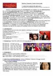 madam query biography in english english worksheets madame tussauds video and biography