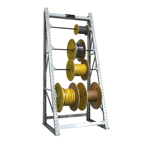 storage racks electrical wire spool storage racks
