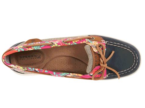 Sperry Top Sider Angelfish Sz 8 12 40 sperry top sider angelfish 2 eye flamingo floral zappos
