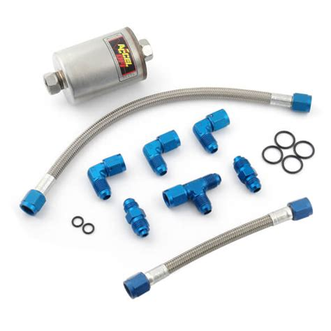 Bb Plumbing by Accel 74202ep Kit Fuel Plumbing Bb Chevy Pro Holley