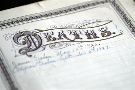 Records Of Deaths 5 Things You Can Learn From Records