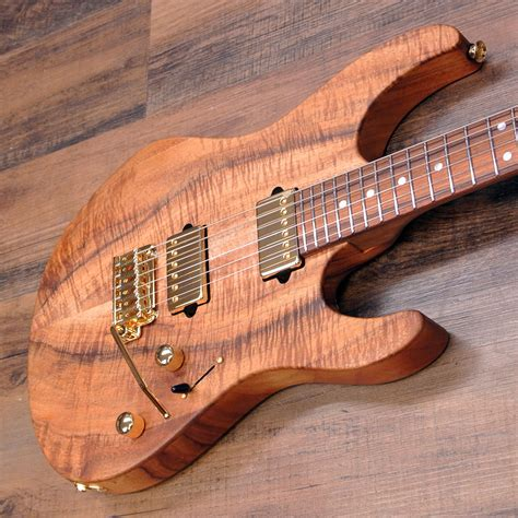 uhr modern suhr modern pro custom koa electric guitar suhr