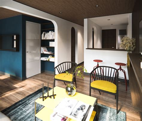 Room Design Visualizer 4 Small Apartments Showcase The Flexibility Of Compact Design