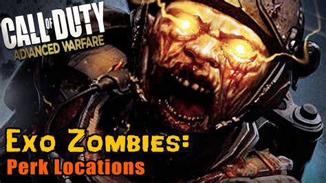 exo zombies perks cod aw exo zombies perk locations youtube