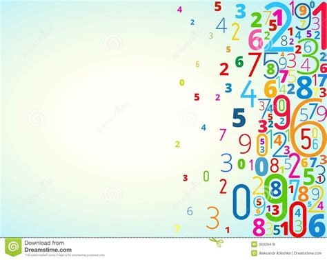 background design numbers vector background from numbers royalty free stock image