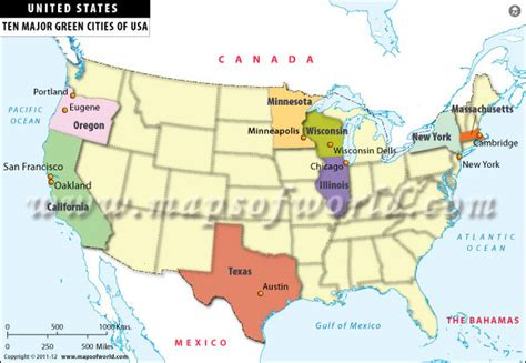 us map with cities chicago us map where is chicago green cities in usa thempfa org