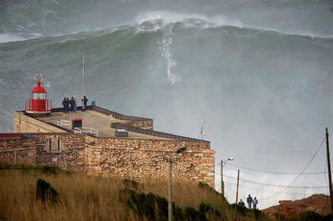 Meter Wave 100 surfer sets new record rides 30 meter wave w