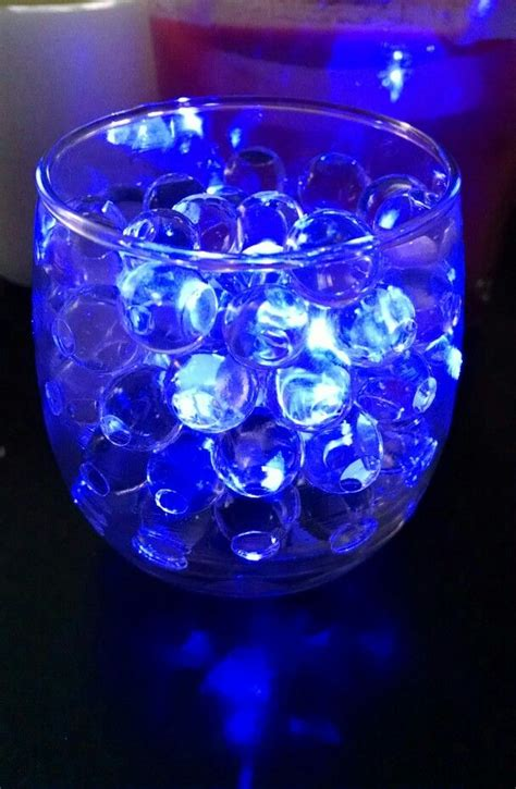 led table lights for weddings clear water with blue led submersible tea light
