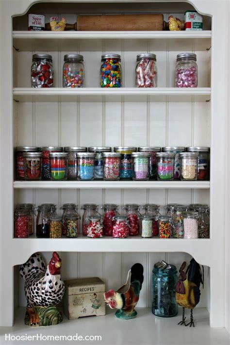 baking supply organization how to organize sprinkles hoosier homemade