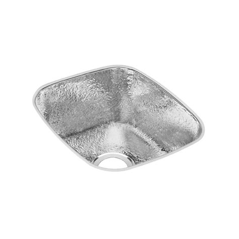 16 undermount stainless steel sink elkay lustertone undermount stainless steel 15 in bar