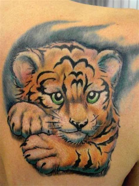 tiger cub tattoo designs tiger cubs tigers and designs on