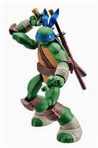 Highly articulated teenage mutant ninja turtles action figures