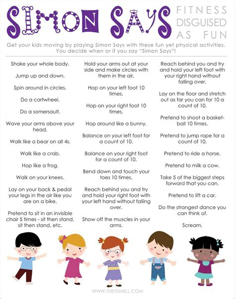activities for free printable to help keep healthy active free