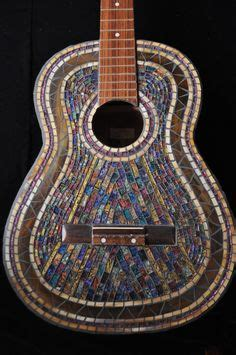 mosaic violin pattern 1000 images about mosaic guitars on pinterest guitar