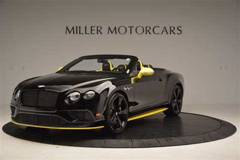 bentley black convertible new 2017 bentley continental gt speed black edition