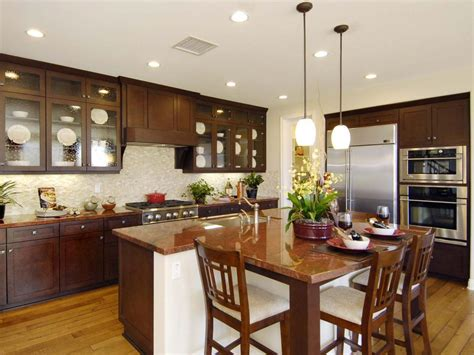 kitchen with island design ideas kitchen island design ideas pictures options tips hgtv