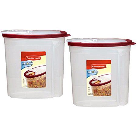 Walmart Kitchen Storage Containers by Rubbermaid Cereal Snack Storage Container 1 5 Gal Pack