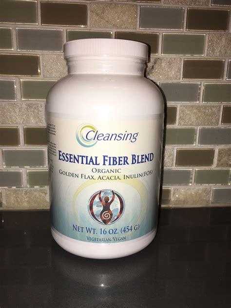 Blender Fiber essential fiber blend cleansing concepts colon