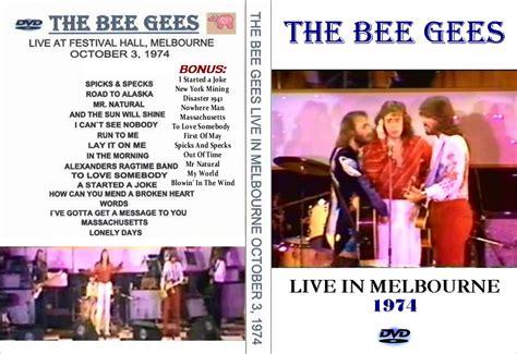 bee gees in the morning live melbourne 1974 o discreto charme das capas mar 231 o 2010