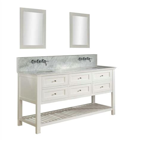 70 double bathroom vanity direct vanity mission spa premium 70 in double