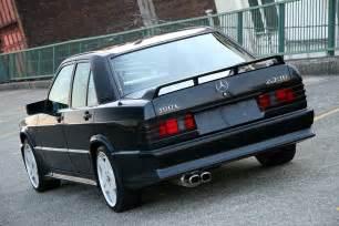 Mercedes 190e 2 3 16 For Sale 1987 Mercedes 190e 2 3 16 In Vancouver Canada