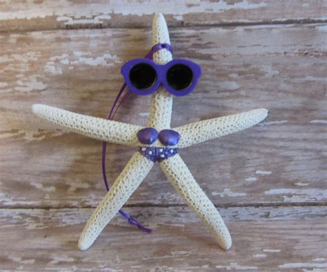 beach christmas ornament beach decor starfish christmas