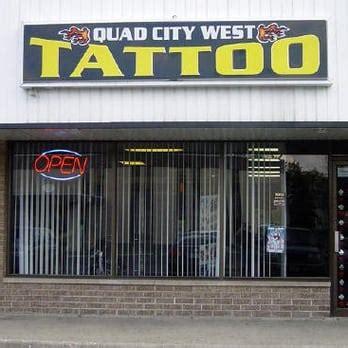tattoo shops quad cities quad city west tattoo closed tattoo 804 s la fox st