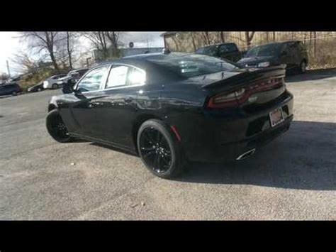 2017 dodge charger sxt blacktop in valparaiso, in 46385