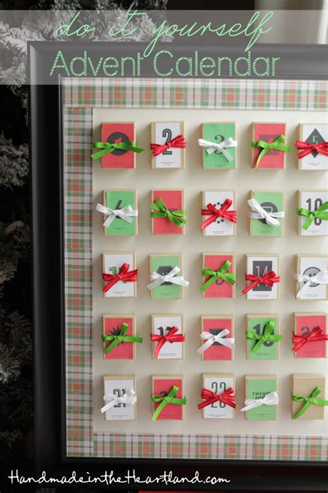 Handmade Advent Calendars - handmade advent calendar the knownledge