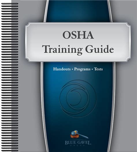 prevention and osha compliance books osha guide bg tg os made by mancomm cpr