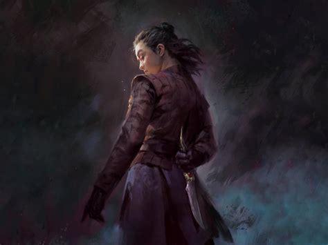 arya stark dagger game  thrones wallpaper hd tv series