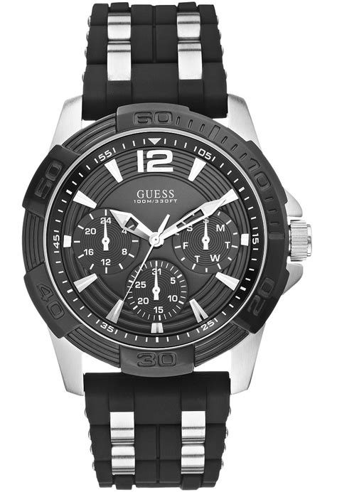 Guess Sassy W0705l2 montre oasis w0366g1 guess noir montres and co