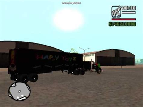 maximum truck maximum overdrive green goblin truck in gta sa