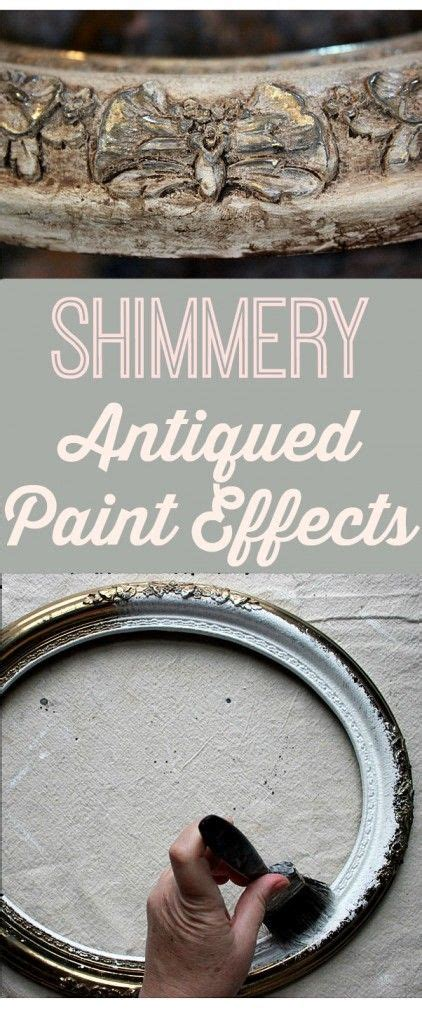 Plastik Furnier Lackieren by Shimmery Antiqued Paint Effects Learn A New Technique