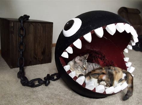 diy cat beds diy chomp monster cat bed petdiys com