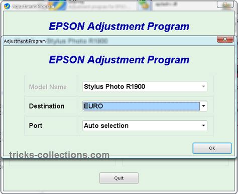 software adjustment resetter program epson t60 adjustment program epson r1900 resetter epson r1900